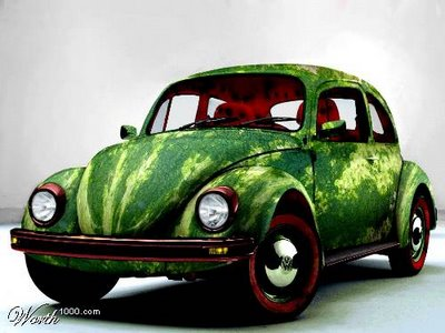 watermelon-vw-art-car