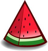 pyranmid watermelon