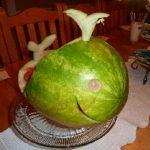 WATERMELON CARVING CONTEST FINALIST #2: THE WHALE
