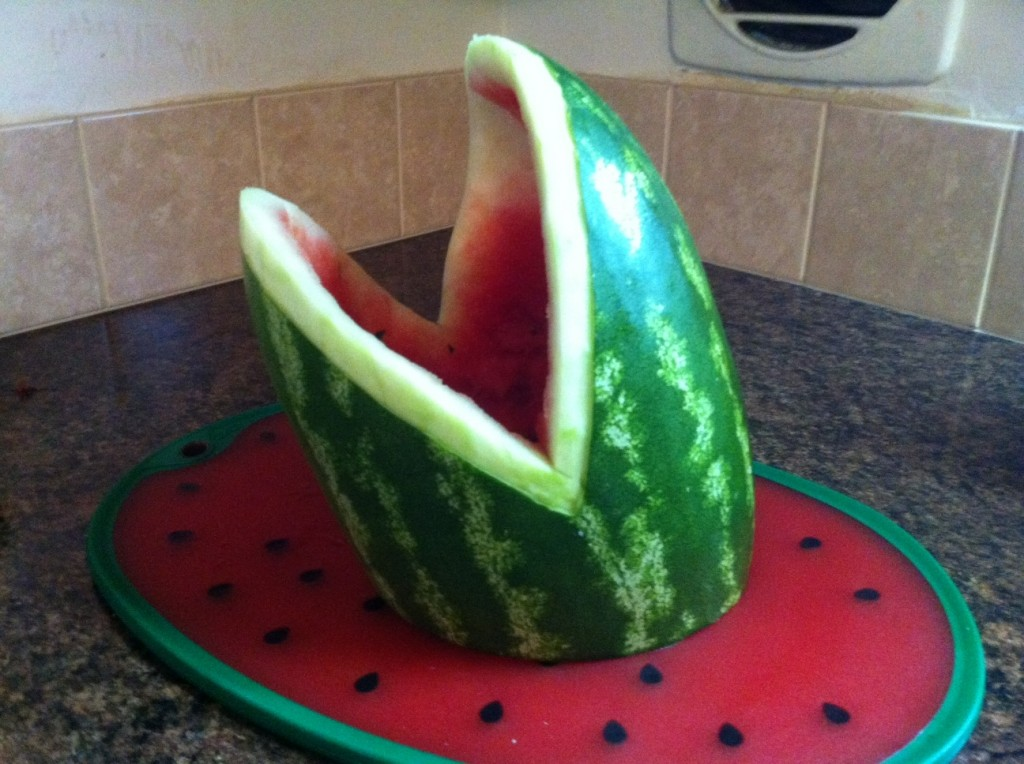 How To Carve A Watermelon Shark What About Watermelon
