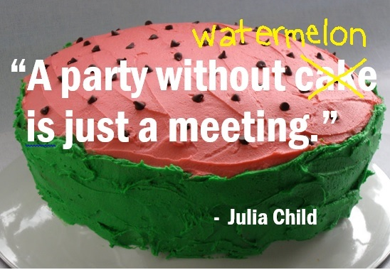 Quotable watermelon i hate meetings what about