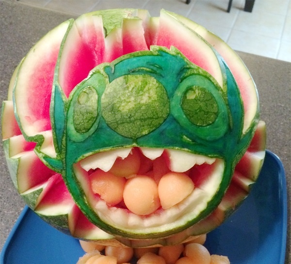 The watermelon carving contest winners are… what