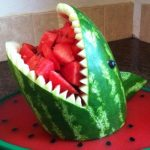 SECOND SLICE: HOW TO STORE A WATERMELON CARVING
