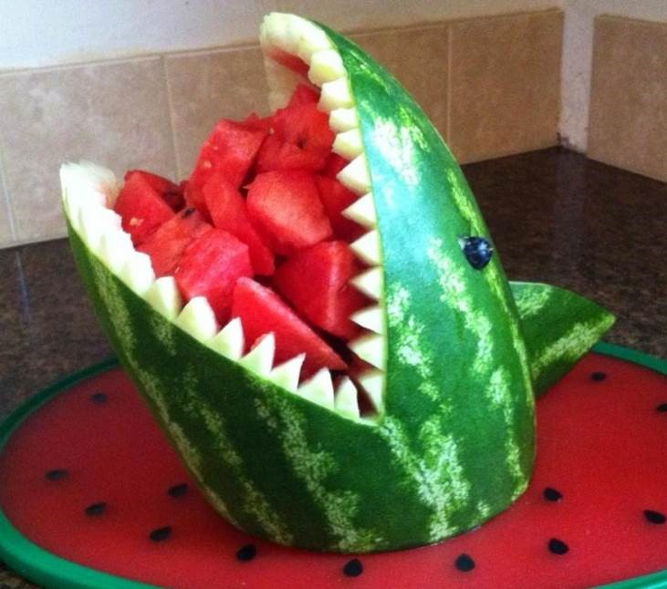 Second slice how to store a watermelon carving what