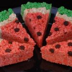 HOW TO MAKE: WATERMELON RICE KRISPIE TREATS!