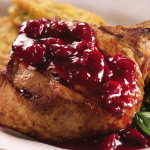 FEATURED RECIPE: WATERMELON CRANBERRY-GLAZED PORK CHOPS