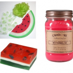 MARCH PRIZE: WATERMELON BATH SET