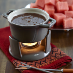 RECIPE: WATERMELON AND CHOCOLATE FONDUE