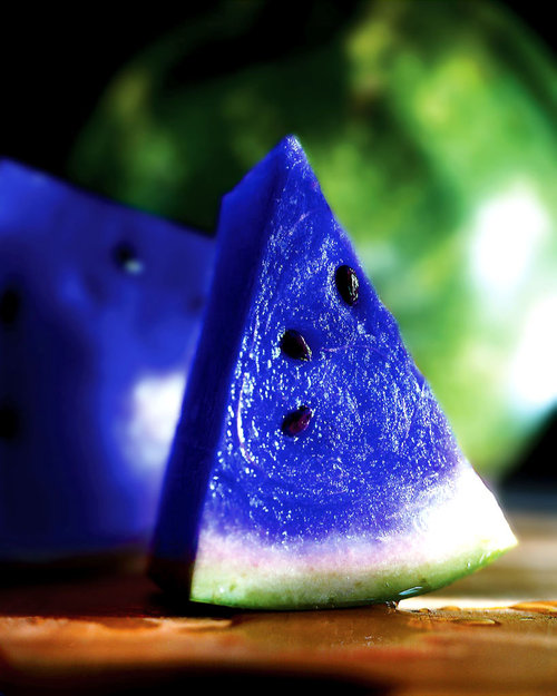 ASK THE EXPERTS: THE MYSTERIOUS BLUE WATERMELON - What ...