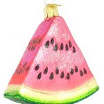 GIFTS FOR WATERMELON LOVERS: A WATERMELON ORNAMENT!