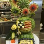 SIX QUESTIONS WITH A WATERMELON CARVER: LAURA POULSEN