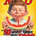 WATERMELON LANDS ON THE COVER OF MAD MAGAZINE!