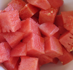 cubed-watermelon