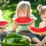children-eating-watermelon