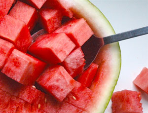 watermelon-scoop
